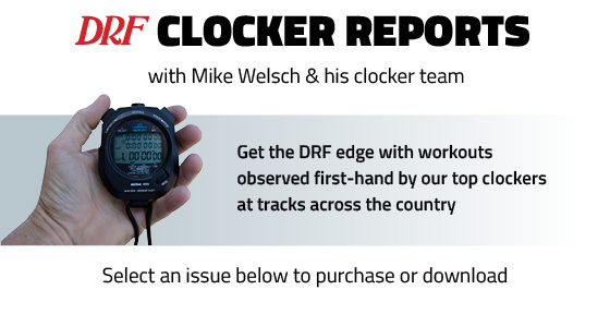 Daily Racing Form Clocker Reports